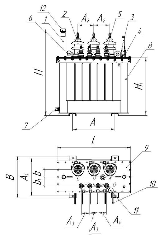 инструкция по эксплуатации тмг 40 ква - фото 6